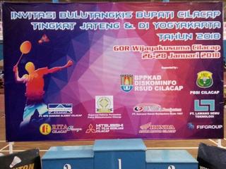 BGS Sponsor Aktif Invitasi Bulutangkis Bupati Cilacap 2018