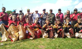 Bank Gunung Slamet Juara 3 Lomba Maumere