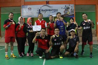 Turnamen Bulutangkis BGS Cup 2018